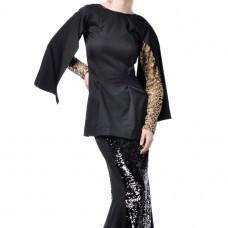 Adeline Cape Sleeves Baju Kurung with Sequin