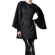 Adilya Cape Sleeves Baju Kurung with Sequin